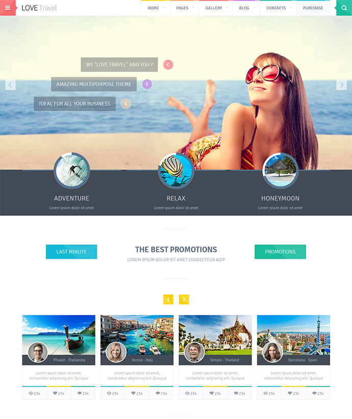Top 7 mẫu website du lịch đẹp và chuyên nghiệp