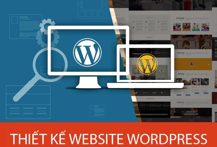 Dịch vụ thiết kế website bằng WordPress chuẩn SEO, tiện ích cao