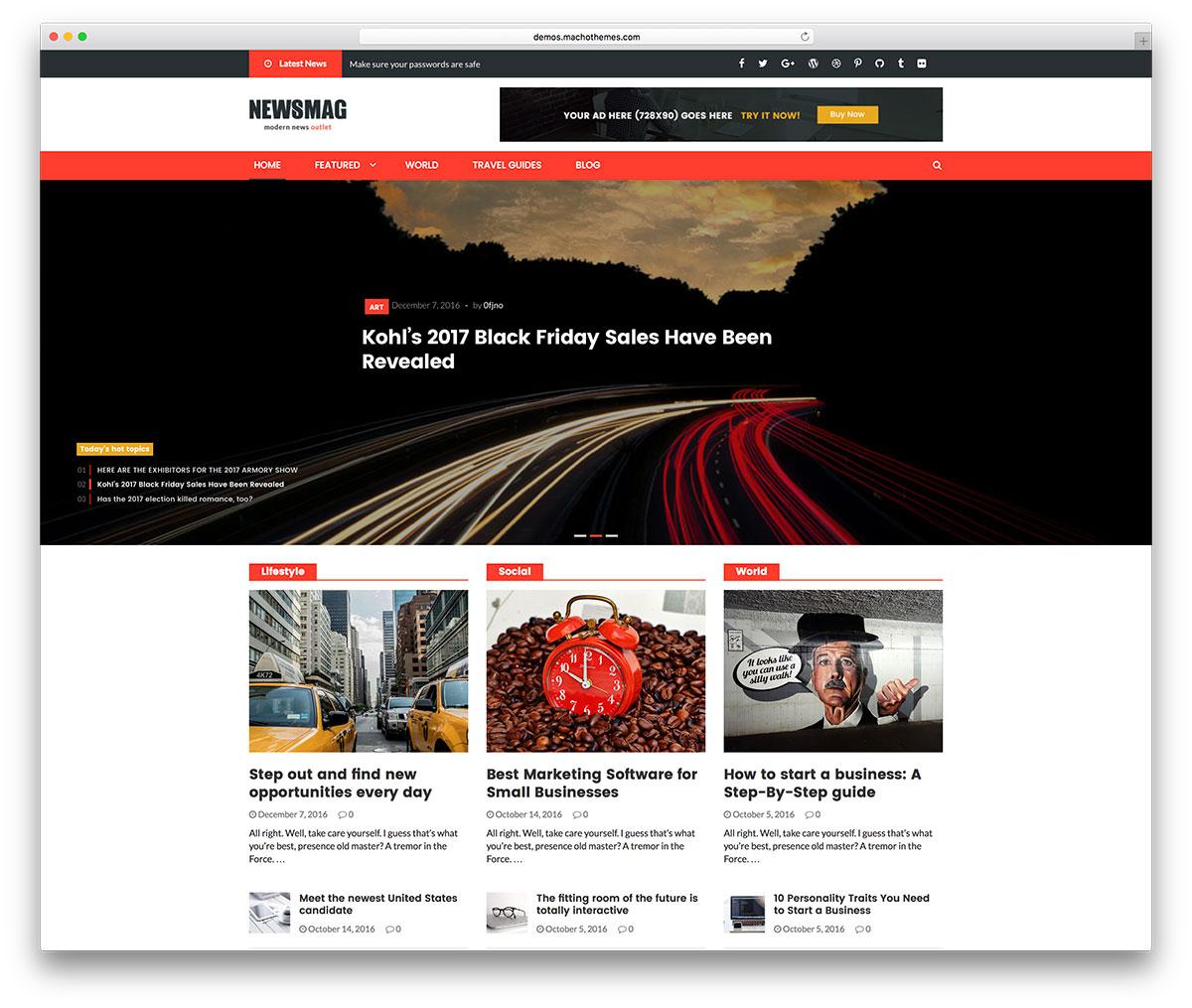 Small Business WordPress Website Design