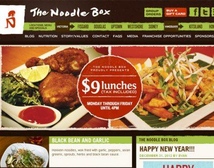 Thiết kế website nhà hàng cao cấp, đẹp và sang trọng