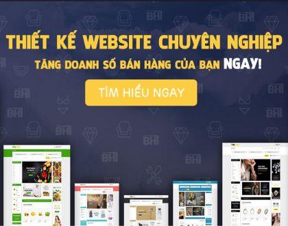 Thiết kế website tại Nghệ An chuyên nghiệp, cam kết chất lượng