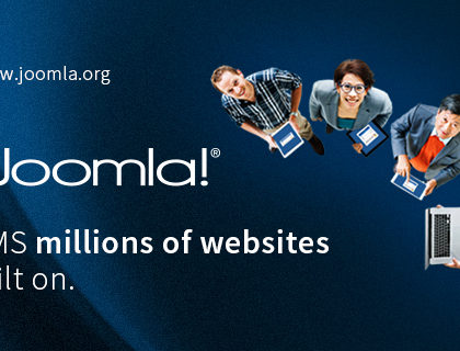 Thiết kế website Joomla đẹp và sáng tạo, tương thích mọi thiết bị