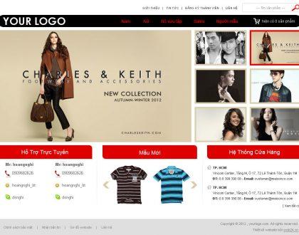 Thiết kế website shop quần áo online độc đáo, thu hút, chuẩn SEO
