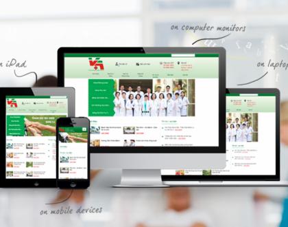 Thiết kế website phòng khám bệnh, bệnh viện chuyên nghiệp