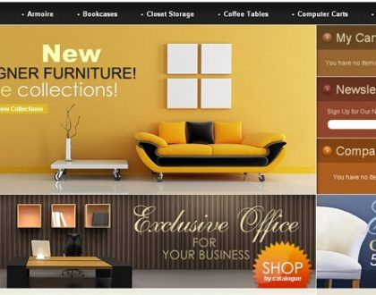 Dịch vụ thiết kế website bán nội thất, đồ gỗ, sàn gỗ đẹp và sang trọng