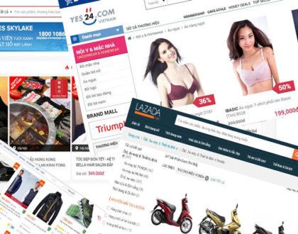 Thiết kế website bán hàng trực tuyến đẹp và chuyên nghiệp