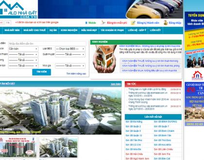 Top 10 trang rao vặt bất động sản lớn và hiệu quả nhất Việt Nam