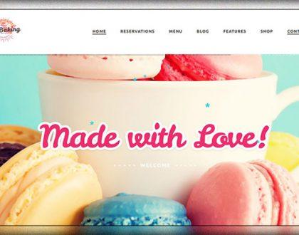 Top 9 mẫu website tiệm bánh, cửa hàng bánh kẹo đẹp