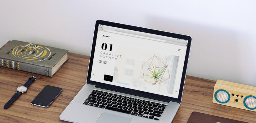 Thiết kế web đơn giản mà đẹp theo phong cách minimalism