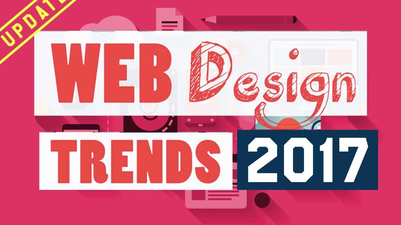 Tổng hợp các xu hướng thiết kế web phổ biến nhất năm 2017