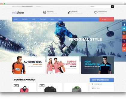 Top 10 mẫu website thương mại điện tử đẹp nhất