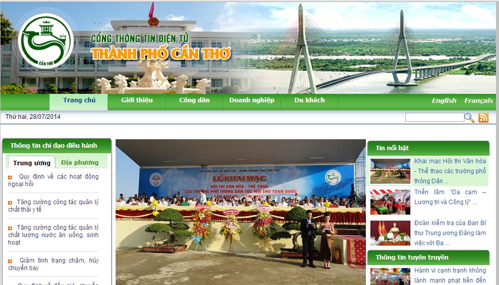 Dịch vụ thiết kế website tại Cần Thơ chuyên nghiệp, giá cả phải chăng