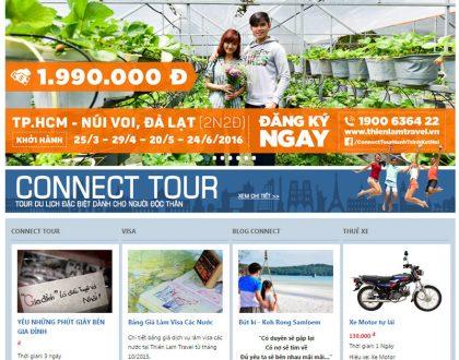 Dịch vụ thiết kế website du lịch chuyên nghiệp