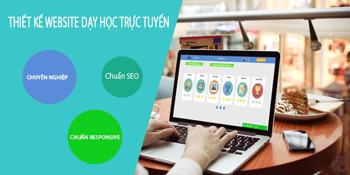 Dịch vụ thiết kế website dạy học trực tuyến đa lĩnh vực hiệu quả cao