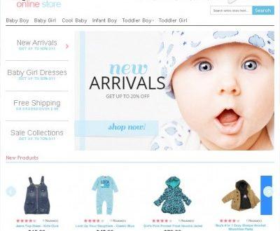 Thiết kế website bán đồ cho mẹ và bé chuyên nghiệp