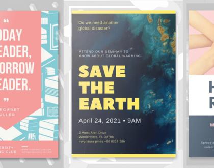 Top các phần mềm thiết kế poster online tốt trên máy tính