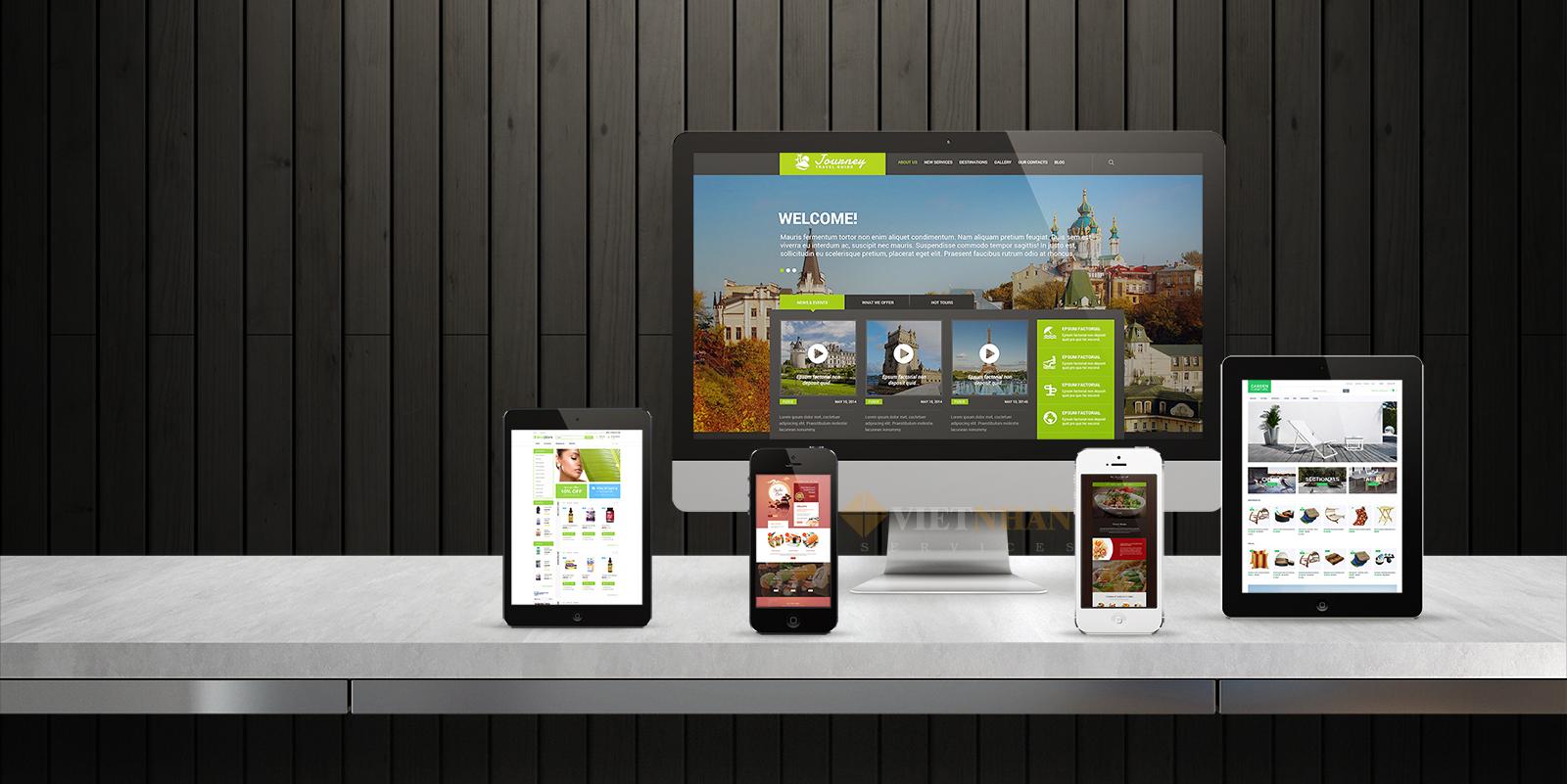 Thiết kế website tại Đà Nẵng đẹp và chuyên nghiệp