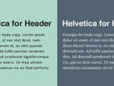 Cách kết hợp font chữ đẹp, bắt mắt trong thiết kế