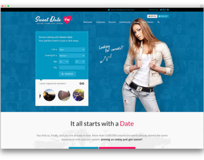 Top các mẫu website kết bạn, hẹn hò trực tuyến