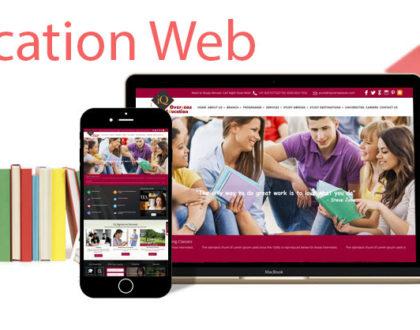 Thiết kế website trường học, trung tâm đào tạo đẹp và chuyên nghiệp