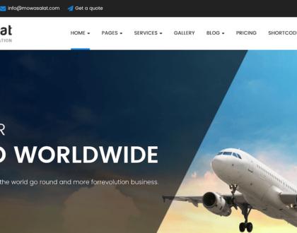 Top 9 mẫu website dịch vụ vận tải, giao nhận chuyên nghiệp và độc đáo