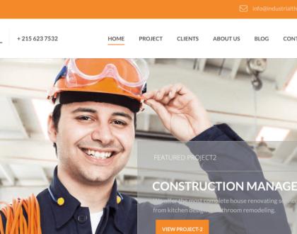 Top 10 mẫu website nhà máy, khu công nghiệp hiện đại và đặc sắc