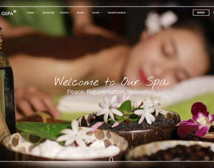 Top các mẫu website spa đẹp và ấn tượng nhất 2021