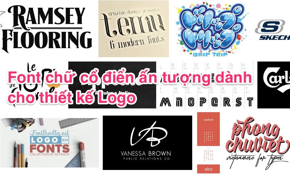 50 font chữ thiết kế logo miễn phí đẹp nhất  2020 (Phần 2)