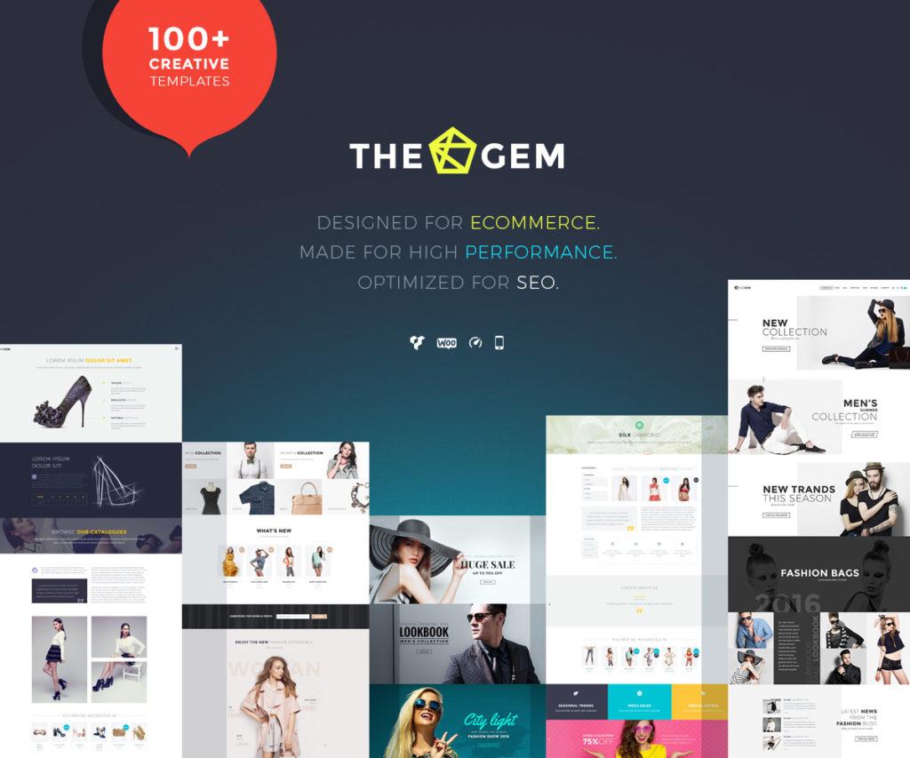 Mẫu website bán hàng thegem