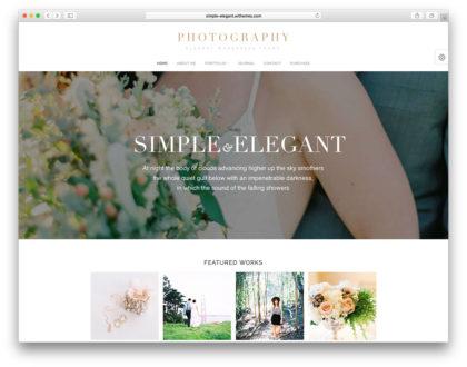 Top 10 mẫu thiết kế website tiệc cưới, hội nghị sang trọng, độc đáo