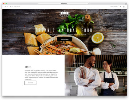 Top 10 mẫu website nhà hàng đẹp, sang trọng, tiện ích