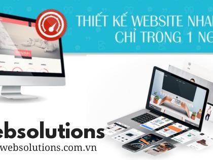 Dịch vụ thiết kế web nhanh, chất lượng hiệu quả