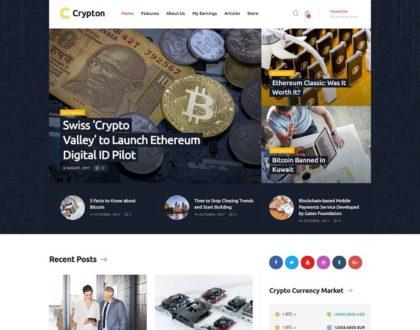 Top 10 mẫu website bitcoin, sàn giao dịch tiền ảo độc đáo và ấn tượng