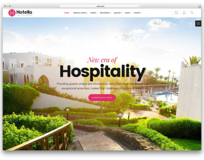 Top 10 mẫu website khách sạn đẹp và chuyên nghiệp 2019