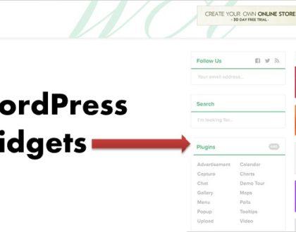 Widgets trong website là gì? Ứng dụng của widgets trong website