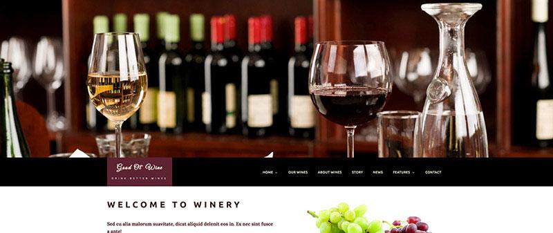 Top 9 mẫu website bán rượu đẹp ấn tượng, chuẩn SEO