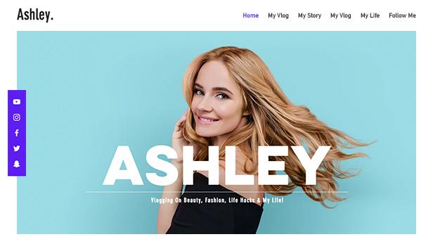Thiết kế website cá nhân nổi bật và chất lượng, hút view