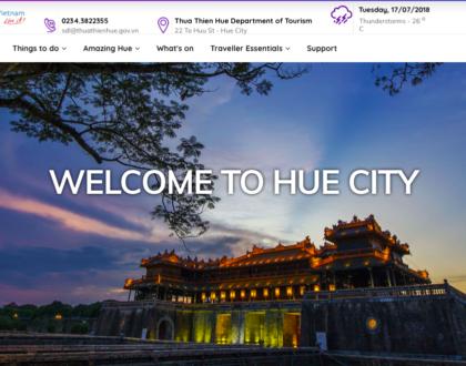 Dịch vụ thiết kế web tại Huế chuyên nghiệp, độc đáo và thu hút