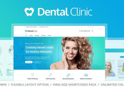Top 8 mẫu website phòng khám nha khoa, răng hàm mặt chuyên nghiệp, độc đáo