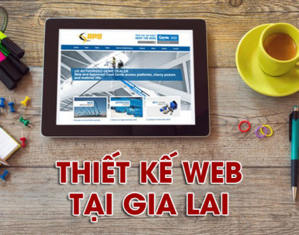 Thiết kế website tại Gia Lai chuẩn SEO, bán hàng hiệu quả