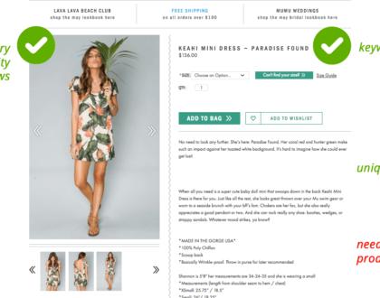 [INFOGRAPHIC] 10 yếu tố cần bổ sung giúp tối ưu trang sản phẩm trên website
