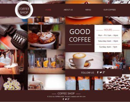 Thiết kế web bán cà phê đậm chất đắng, chuyên nghiệp và hiệu quả