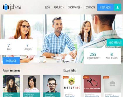 Top 10 mẫu website tuyển dụng, tìm việc làm đẹp và chuyên nghiệp