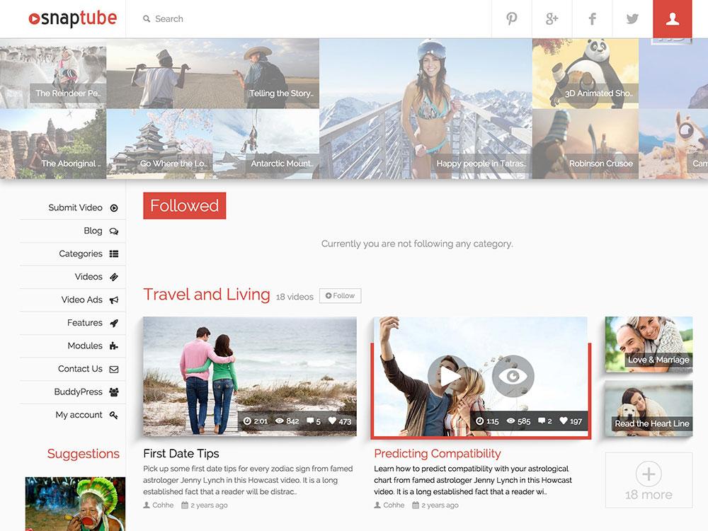 Tổng hợp 10 mẫu website video giống Youtube đẹp và tiện ích