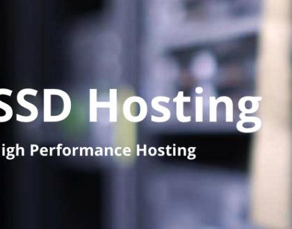 Dịch vụ hosting SSD giá rẻ tốc độ cao tốt nhất 2019