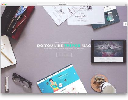 Top 10 mẫu website quảng cáo sáng tạo và độc đáo