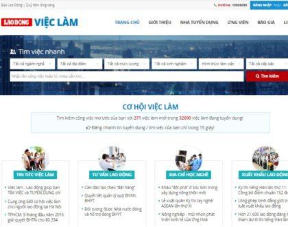 Thiết kế website việc làm, tuyển dụng chuyên nghiệp
