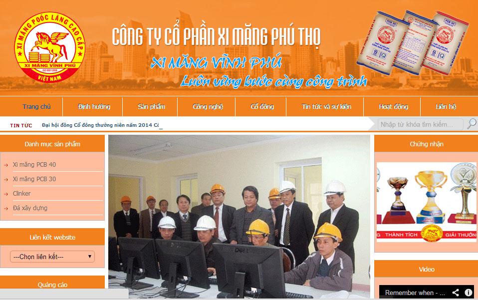 Thiết kế website tại Phú Thọ hiện đại và đẳng cấp