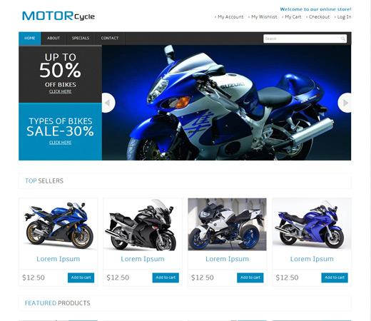 Dịch vụ thiết kế website bán xe máy chuẩn SEO, bán hàng hiệu quả