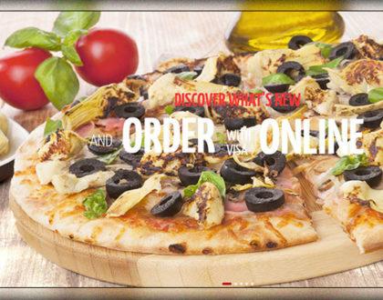 Top 10 mẫu website bán Pizza thơm ngon, bổ dưỡng cực đẹp 2018